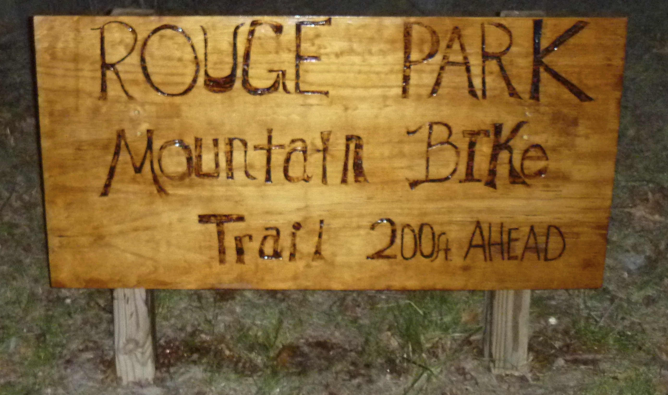 Rouge Trail Sign
